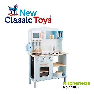 荷蘭New Classic Toys 聲光小主廚木製廚房玩具 - 11065