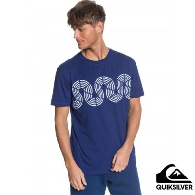 【QUIKSILVER】MTK CONNECTED TEE T恤 海軍藍