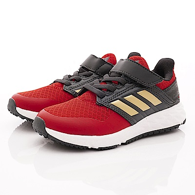 adidas童鞋 FAITO經典運動鞋款 NI8115紅黑(中大童段)