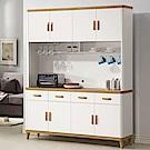 D&T德泰傢俱 愛杜莎5.3尺餐櫃(全組)-158x40x196cm