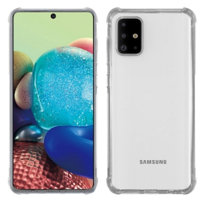 Metal-Slim Samsung Galaxy A71 5G 強化軍規防摔抗震手機殼