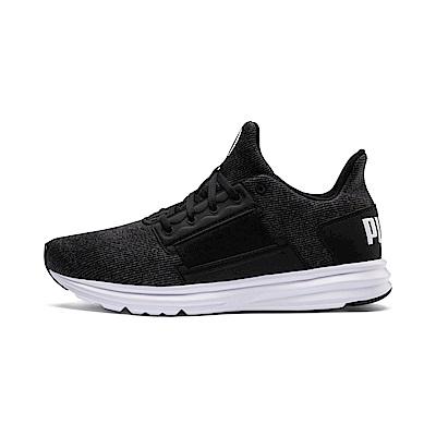 PUMA-EnzoStreetKnitInterest男性慢跑運動鞋-黑色