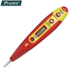 台灣品牌Pro'sKit寶工數顯式驗電筆(接觸式)NT-305