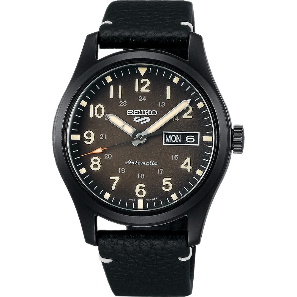 SEIKO 精工 5 Sports 廣告款 煤灰色機械錶(SRPG41K1/4R36-10A0C)-39.4mm