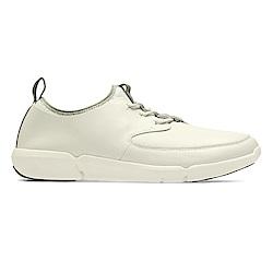 Clarks Triflow Form 男 休閒鞋 米白