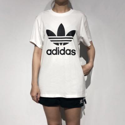 ADIDAS BOYFRIEND TEE 女短袖上衣-白-DX2322