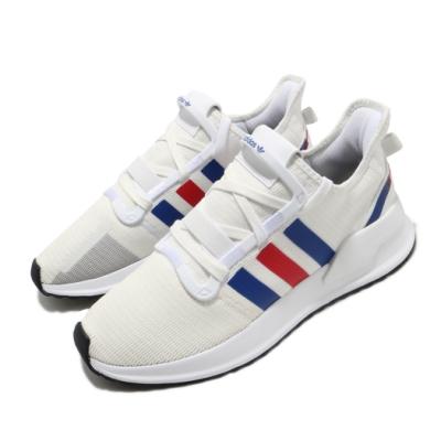 adidas 休閒鞋 U Path Run 運動 男女鞋 愛迪達 襪套 簡約 舒適 情侶穿搭 白 藍 EG5331