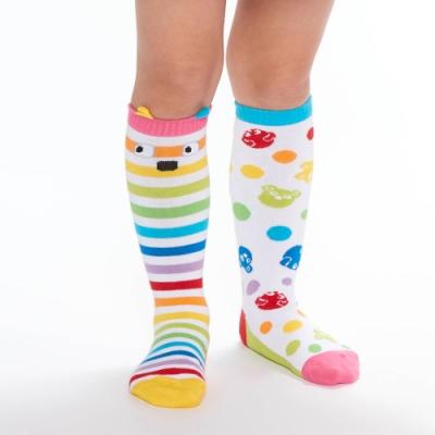 WHY AND 1/2 mini 點點條紋長筒襪