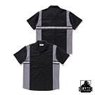 XLARGE S/S WORK SHIRT短袖襯衫-黑