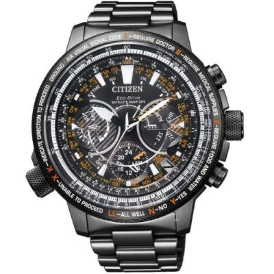 CITIZEN星辰PROMASTER30週年紀念GPS衛星對時手錶 CC7015-55E