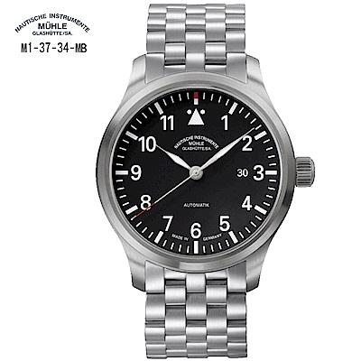 格拉蘇蒂·莫勒 Sporty 運動系列-德式飛行員M1-37-34-MB 機械男錶