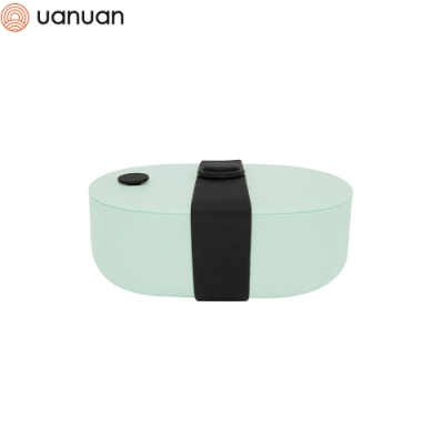 【源源鋼藝 uanuan】Bendong Light 便當盒(綠色)+承食包(芝麻包)(快)