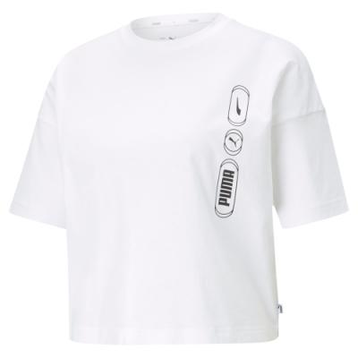 【PUMA官方旗艦】基本系列Rebel短版短袖T恤 女性 58573702