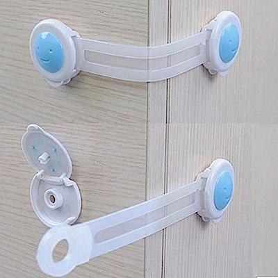 親親寶貝 日本熱銷家居安全防護鎖 多功能安全鎖 兒童安全鎖扣(2入)