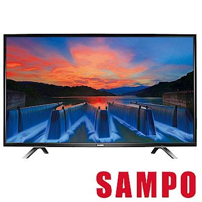 SAMPO聲寶 43吋 LED液晶顯示器+視訊盒 EM-43AK20D