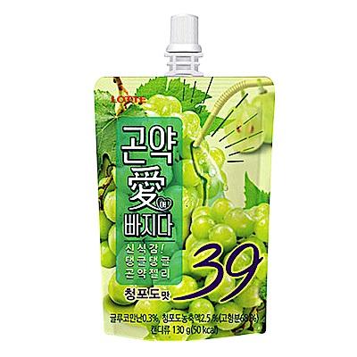 Lotte樂天 吸吸果凍-白葡萄口味(130g)