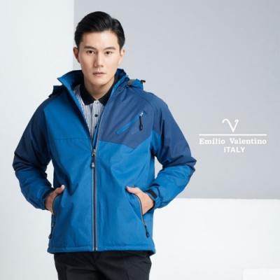 Emilio Valentino 范倫提諾機能外套_藍/丈青(22-8K1255)