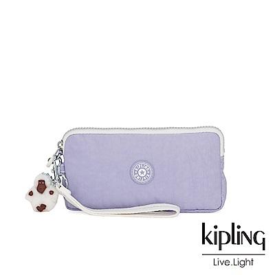 Kipling 法式丁香紫手拿包-LOWIE