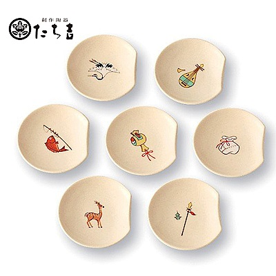 日本橘吉_七福筷架(7入)