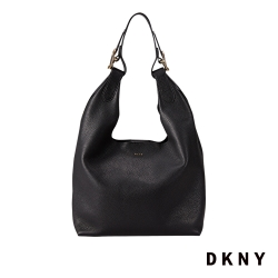 DKNY 新月休閒設計肩背包 黑