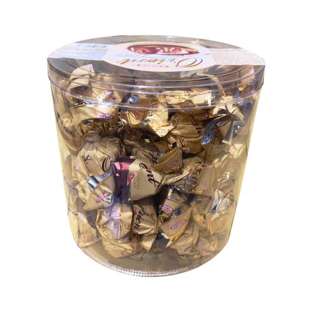 塔雅思東方單扭榛果味巧克力(1000g)