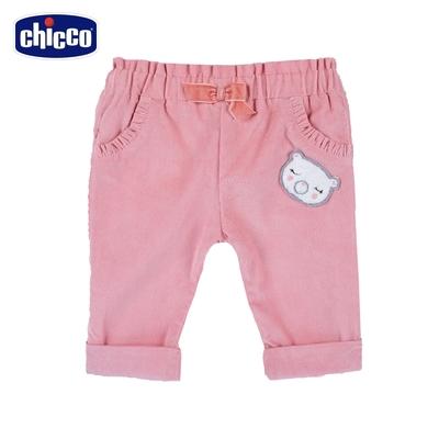 chicco-SB 自然系-燈芯絨彈性長褲
