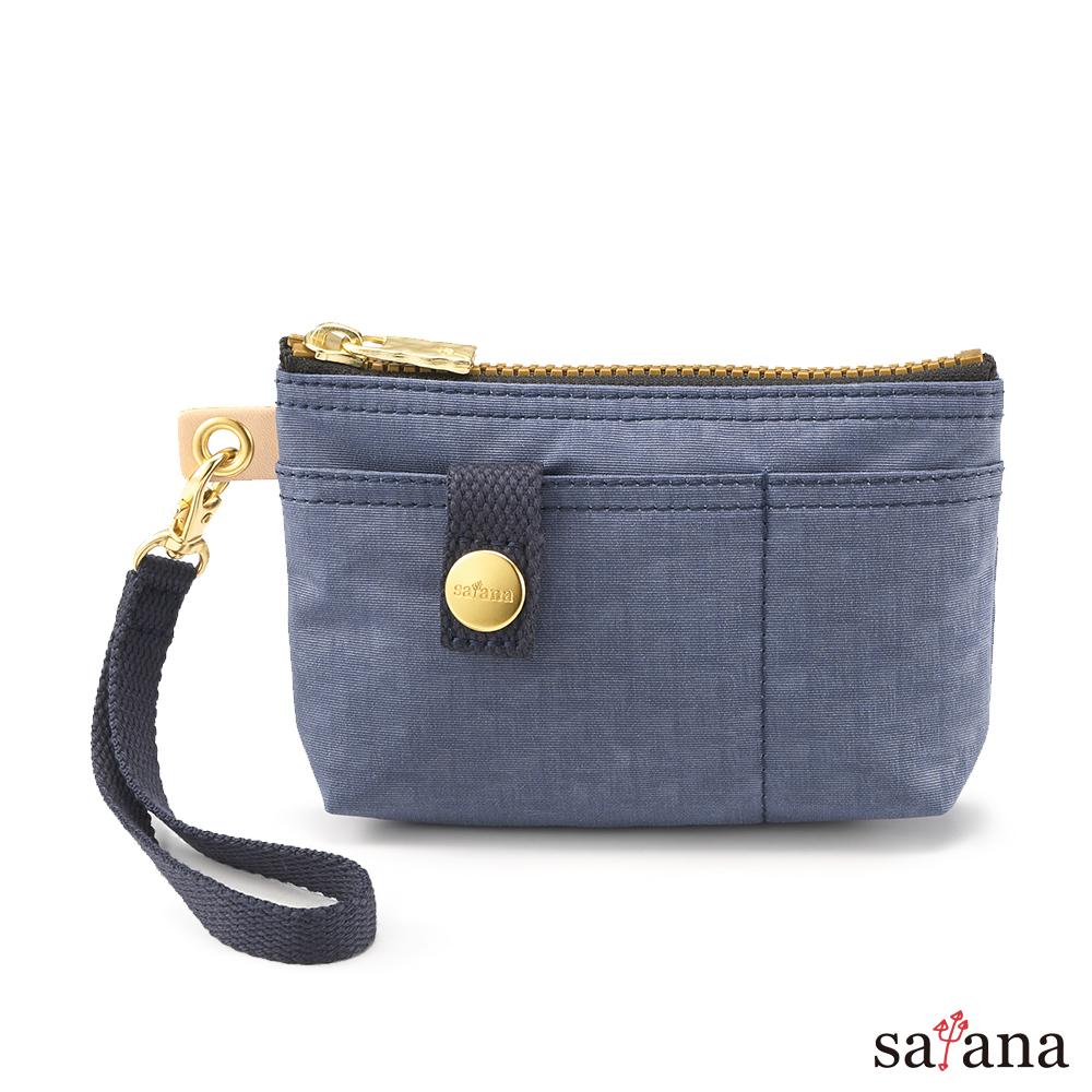 satana - Soldier 實用拉鍊化妝包/零錢包 - 夜影藍