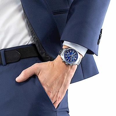 CITIZEN Eco-Drive 飛行員系列計時腕錶(CA7040-85L)