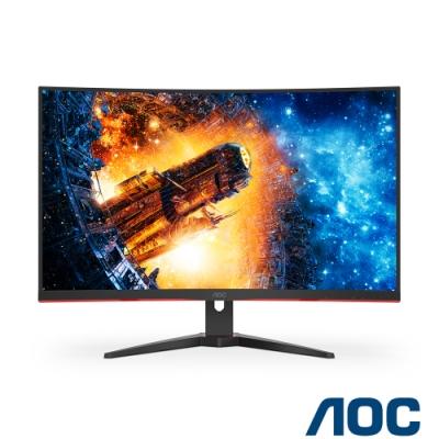 AOC C32G2E 32型 165Hz曲面電競螢幕
