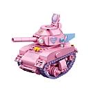 LOZ mini 鑽石積木-1118 謝爾曼坦克