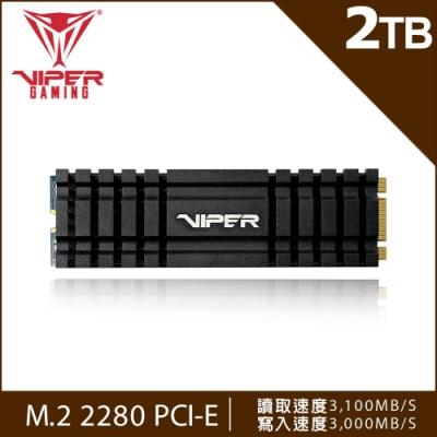 VIPER蟒龍 VPN100 2TB M.2 2280 PCIE SSD固態硬碟