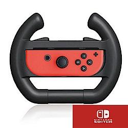 任天堂 Nintendo Switch 方向盤 黑色  (二入)   副場