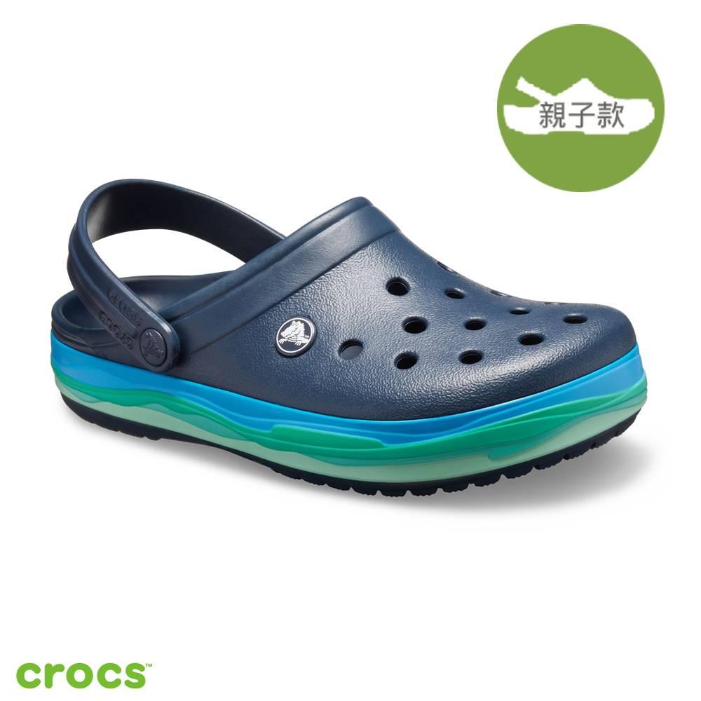 Crocs 卡駱馳 (中性鞋)波浪紋卡駱班 205573-4HQ