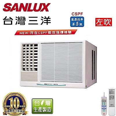 台灣三洋SANLUX 8-10坪窗型定頻左吹式SA-L50FE