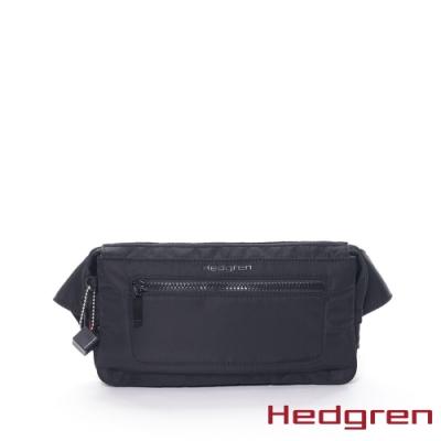 【Hedgren】INNER CITY不拘束 腰包-墨黑