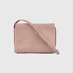 MARCO LAURENT Ice Cream 軟軟刺繡肩背包 - 玫瑰粉