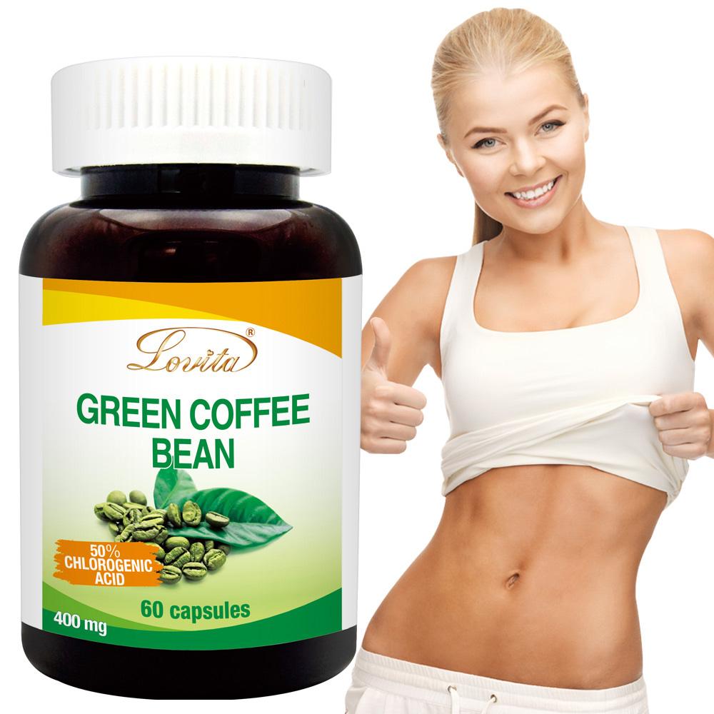 Lovita 愛維他- 高單位綠咖啡400mg 素食60顆