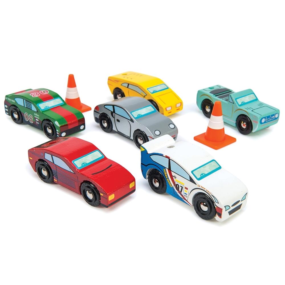 英國 Le Toy Van 小小工程師系列-蒙地卡羅賽車玩具組