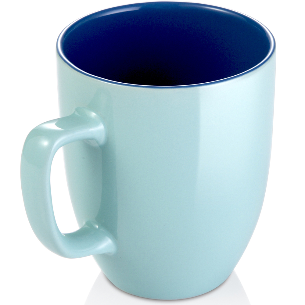 《TESCOMA》Crema雙色馬克杯(藍250ml)