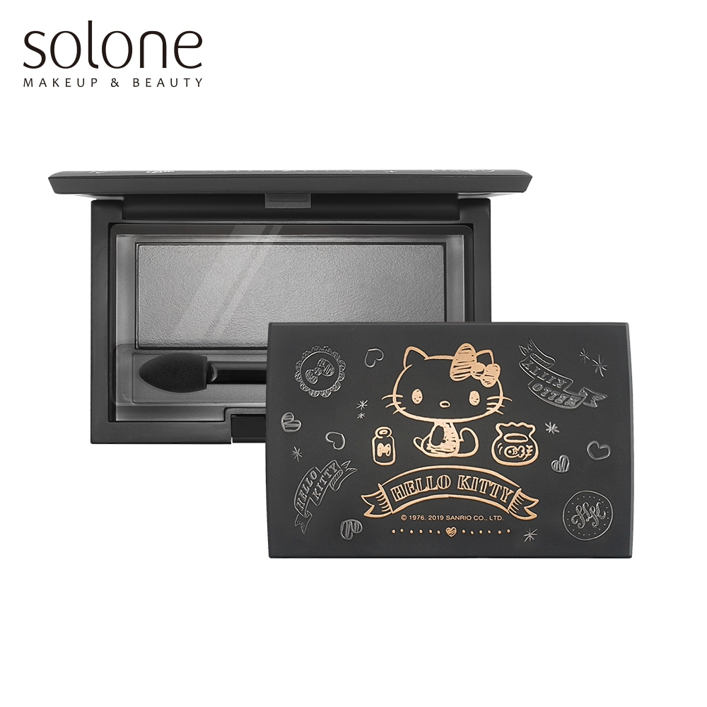 Solone Hello Kitty 手繪風彩妝收納盒 (3格)