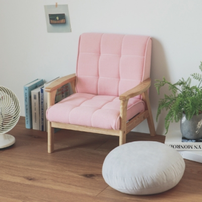 完美主義 日系兒童沙發/單人座/布沙發(4色)-DIY