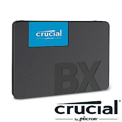 美光 Micron Crucial BX500 240GB SATAⅢ SSD固態硬碟(WDS500G2B0C)