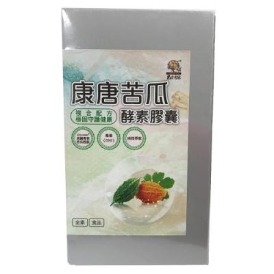 果珍有酵 康唐苦瓜酵素膠囊 (0.6公克/包±5%,共60粒)