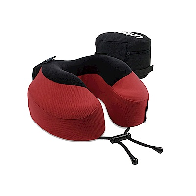 CABEAU-旅行用記憶頸枕S3-魔力紅