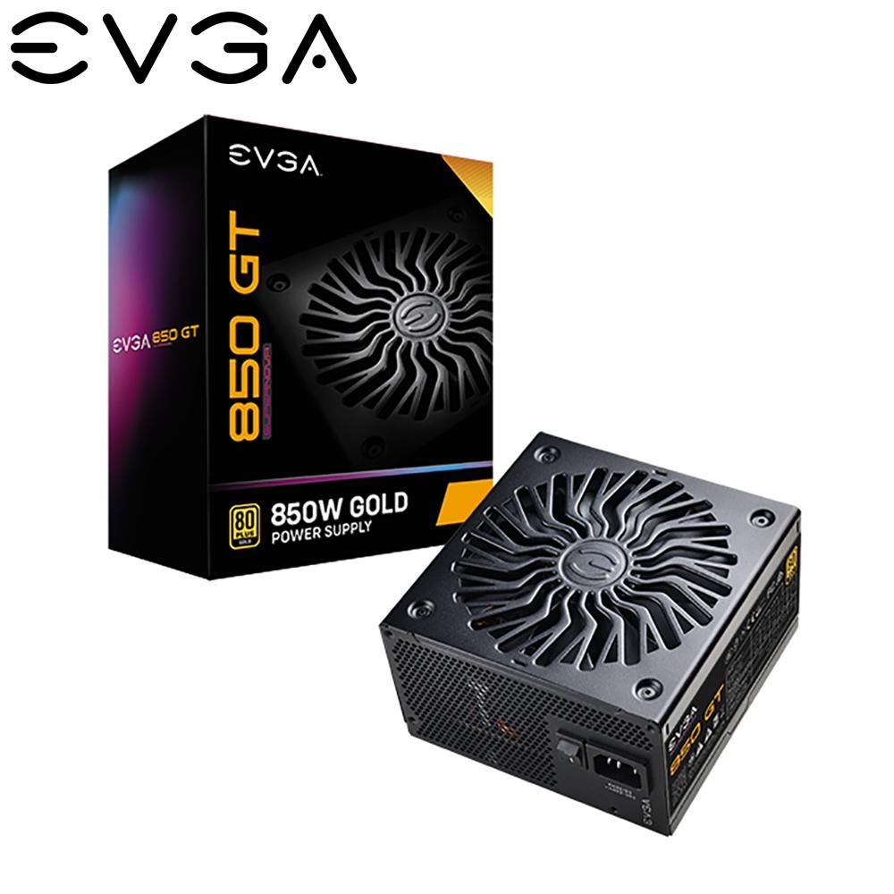 EVGA 艾維克 GT 850W 金牌 全模組 電源供應器  七年保固