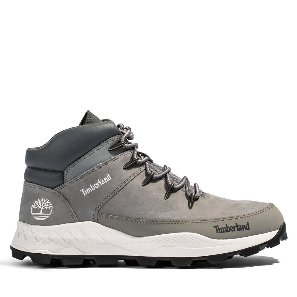 [限時]Timberland男款磨砂革布魯克林運動鞋(2款任選) (B中灰色)