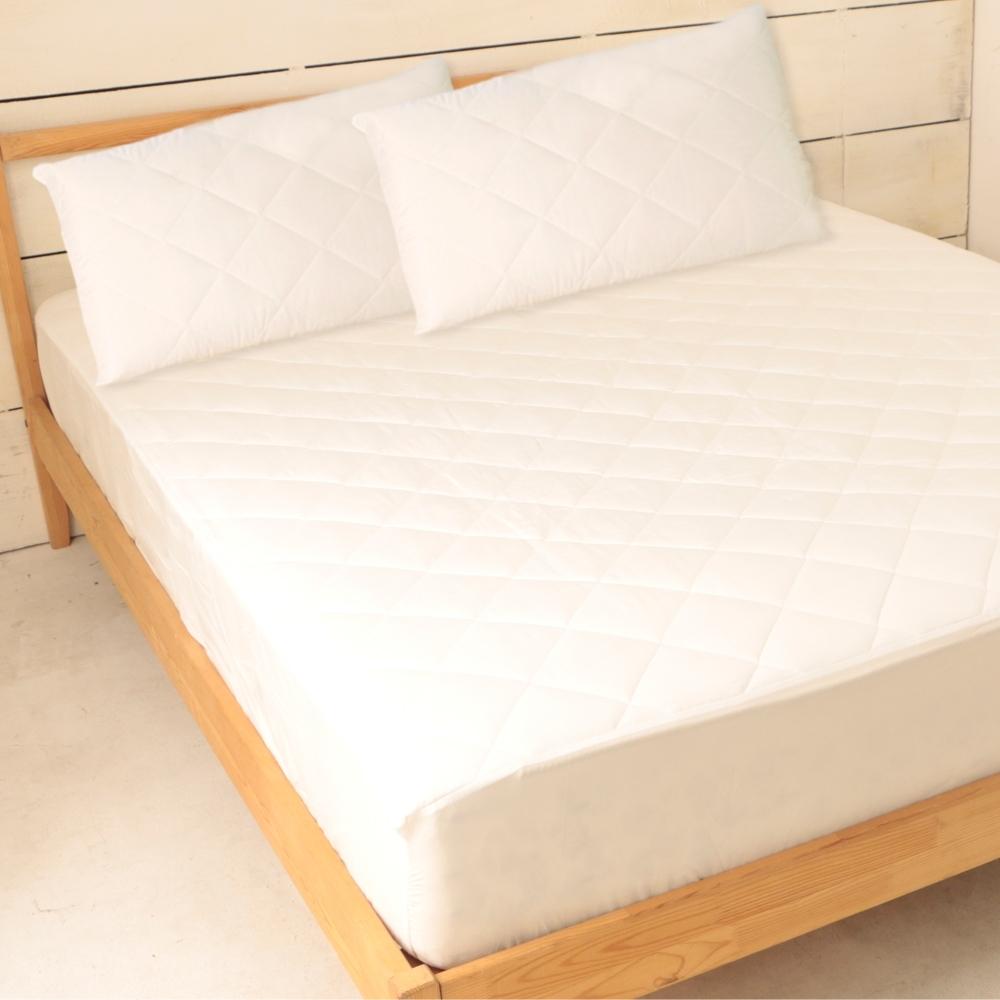 床之戀 台灣製加高床包式保潔墊-雙人5尺