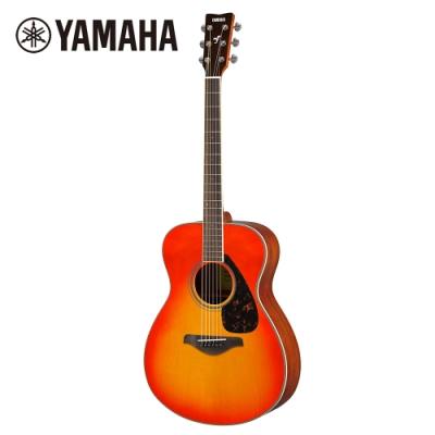 YAMAHA FS820 AB 民謠木吉他 火紅漸層色