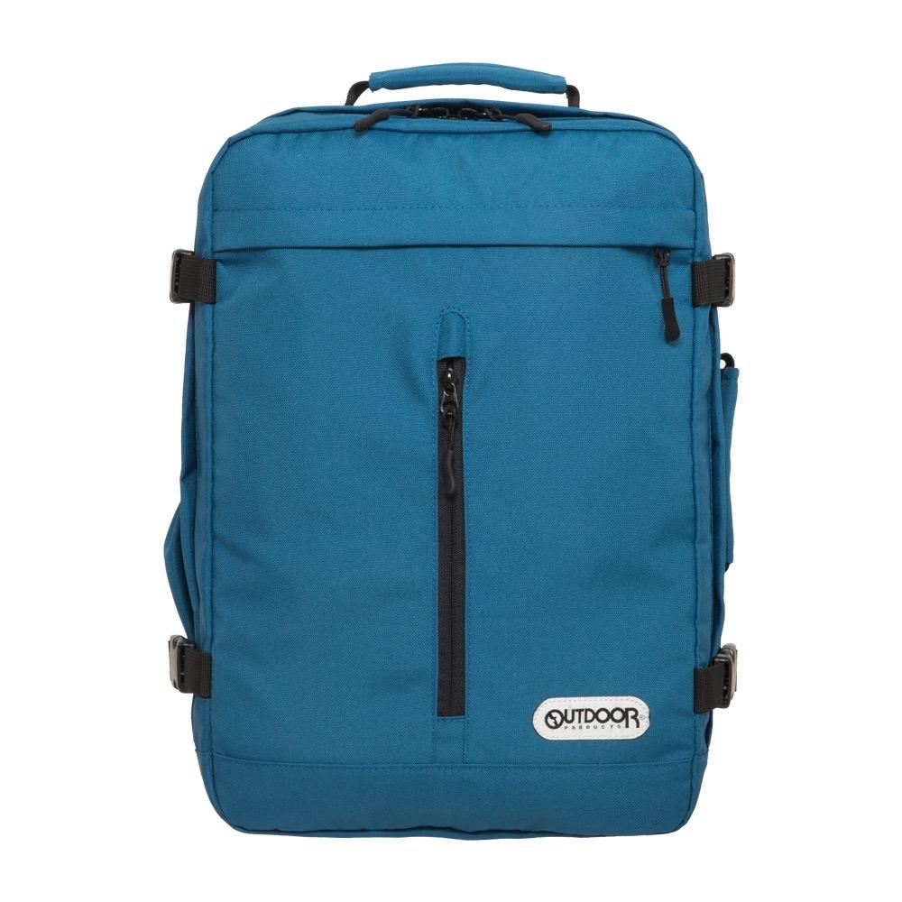 【OUTDOOR】悠遊寰旅-15.6吋後背包-藍色 OD281102BL