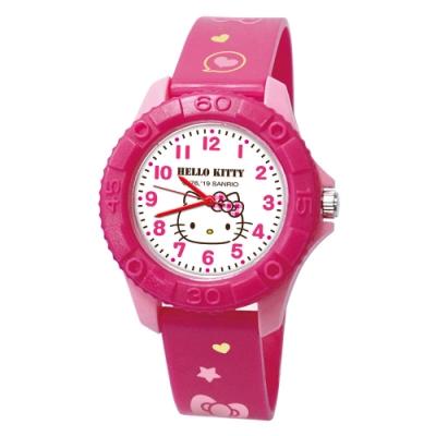 Sanrio三麗鷗雙色殼兒童手錶35mm 大頭Kitty